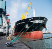Metinvest starts using liner service from Mariupol port again
